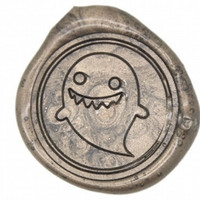 Ghost Wax Seal Stamp