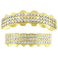 Grillz 14k Yellow Finish Halloween Special
