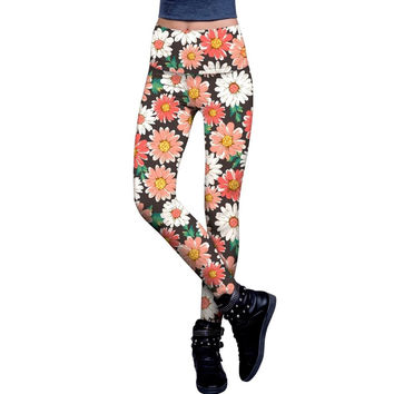 Pick Me Lucy Floral Printed Performance Leggings - Women