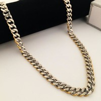 New Arrival Gift Shiny Jewelry Stylish Hip-hop Club Necklace [8439439043]