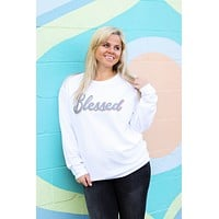 Jadelynn Brooke: Blessed Corded Fleece {White}