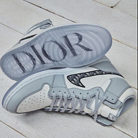 Dior x Air Jordan 1 New Hot Sale Men's and Women's High-Top Sneakers shoes
