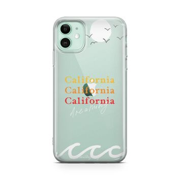 California Dreaming - iPhone Clear Case