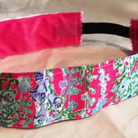 Lilly Pulitzer inspired no-slip headband
