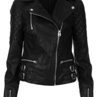 Tall Biker Jacket - Tall  - Clothing