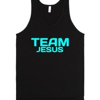 Team Jesus-Unisex Black Tank