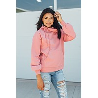 Making Plans Hoodie-Dusty Rose(S-XL)