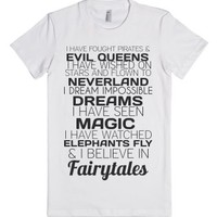Fairytales-Female White T-Shirt