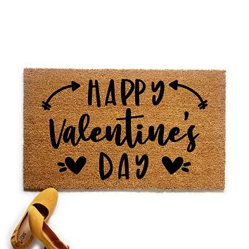 Happy Valentine's Day Doormat