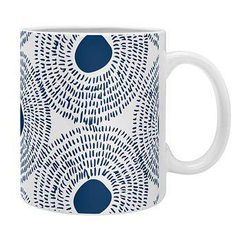 Camilla Foss Circles In Blue II Coffee Mug