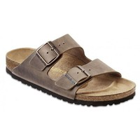 DCCK3 Beauty Ticks Birkenstock Classic Arizona Regular Fit Natural Leather Tobacco Brown