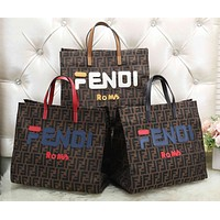 FENDI Trending Women Stylish Handbag Tote Shoulder Bag Crossbody Satchel