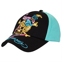 Ed Hardy - Skull & Eagle Youth Aqua Adjustable Baseball Cap