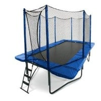 JumpSport 10' x 17' StagedBounce Trampoline with Safety Enclosure