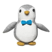 Knit Alpaca Baby Penguin Toy