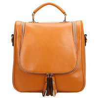 Lixmee Leather Fashion Satchel Women Backpack