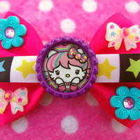 Lolita Hello Kitty Sanrio Cat Hair Bow