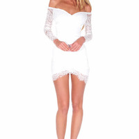 """""""The Sweetest Thing"""" Laces Bodycon Dress"""
