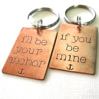 Anchor Key Chain Set - Spiffing Jewelry