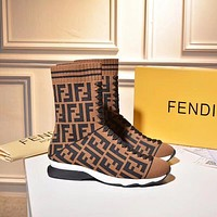 shosouvenir Fendi Sports elastic stocking boots