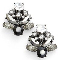 Marchesa 'Dahlia' Button Stud Earrings (Nordstrom Exclusive) | Nordstrom