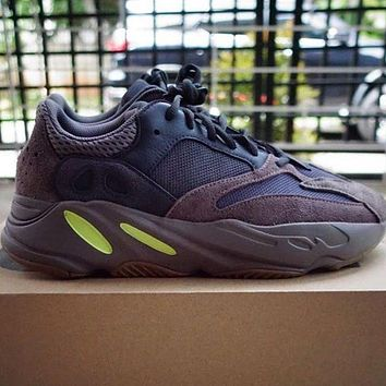 ADIDAS YEEZY 700 Tide brand breathable men and women retro wild sports running shoes 2#