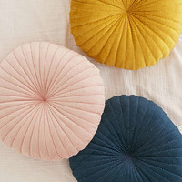 Shelly Round Velvet Pillow   Urban Outfitters