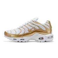 Nike Air Max Plus QS white gold 40-46