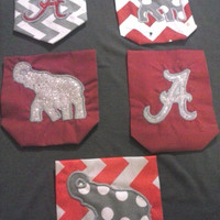 Long Sleeve Alabama Pocket Tee (various designs) (children sizes and adult S-L)