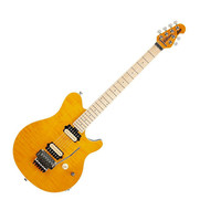 Music Man Axis Electric Guitar Translucent Gold Maple Fretboard at Hello Music