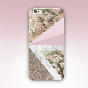 Marble Wood Print Phone Case- iPhone 6 Case- iPhone 5 Case - iPhone 4 Case - Samsung S4 Case - iPhone 5C - Tough Case - Matte Case - Samsung
