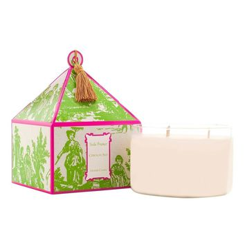 Citron du Sud Classic Toile Three-Wick Candle