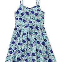 Kids' Poppy Print A-Line Dress