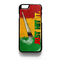 Just Hit It for iPhone 4 4S 5 5S 5C 6 6 Plus , iPod Touch 4 5  , Samsung Galaxy S3 S4 S5 Note 3 Note 4 , and HTC One X M7 M8 Case Cover