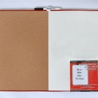 Combination Cork and Dry Erase Board Large sized dorm essential for dorm decor and purposeful usage on your dorm room wall cheap dorm stuff