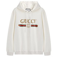 Gucci Women or Men Fashion Casual Loose Top Sweater Hoodie
