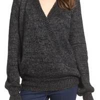 Love by Design Cross Over Sweater | Nordstrom