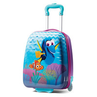 """Kids Finding Dory 18"""" ABS Hard Shell Rolling Wheeled Luggage Suitcase"""