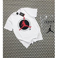 NIKE AIR JORDAN Flight Club Limited Edition Short Sleeve F-AA-XDD White