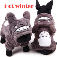 super cute dog clothes winter clothing for small dogs/ dog warm coat