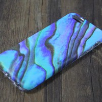 Turquoise Marble Tough Protective iPhone XS Max Case Galaxy S8 plus Case 3D 201
