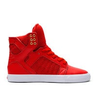 WMNS SKYTOP RED / GOLD - WHITE