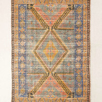 Alder Overdyed Printed Jute Rug | Urban Outfitters