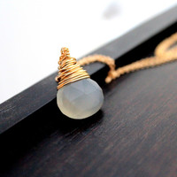 Moonshadow Necklace - Gold