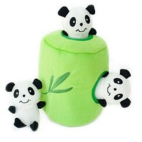 Panda n' Bamboo Burrow Toy