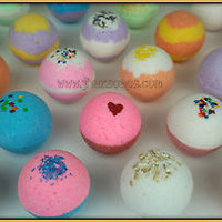 Bath fizzies lush & luxurious bath bomb fizzy pack of 14 assorted 2.5 oz. lot