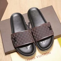 Louis Vuitton LV Flip Flop Sandal Men Slipper-2