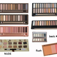 Eyeshadow Makeup Palette Basic/Blush/Flush NK BRAND