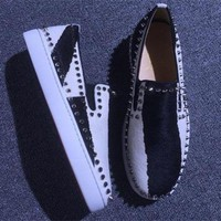 DCCK2 Cl Christian Louboutin Flat Style #782