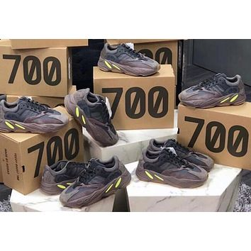 Bunchsun Adidas Yeezy Boost 700 V2 street fashion casual shoes for men and women 2#